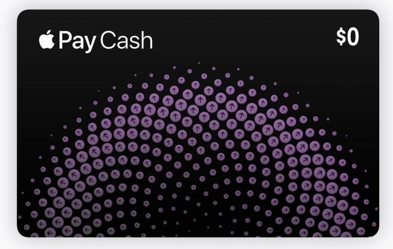 Apple Pay Cash accepted